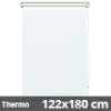 Hőszigetelő roló, Thermo, fehér, ablakra: 122x180 cm