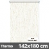 Hőszigetelő roló, Thermo, natúr, ablakra: 142x180 cm