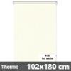 Hőszigetelő roló, Thermo, krém, ablakra: 102x180 cm