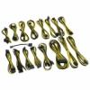 CableMod C-Series AX, HXI & RM Cable Kit - fekete / sárga