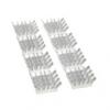 Alumínium hûtés készlet 8 darab 3M 8810 öntapadó párnákkal - ezüst