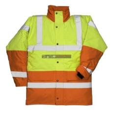 Portwest S466 Kontraszt Traffic kabát (SÁRGA/NARANCS S)