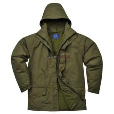 Portwest S530 Arbroath lélegző polár béléses kabát (ERDŐZÖLD XXL)