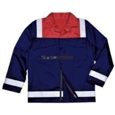 Portwest FR55 Antisztatikus kéttónusú kabát (NARANCS, XL)