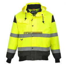 JCB JC60 HIGH VISIBILITY BOMBER JACKET L