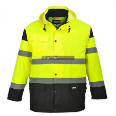 JCB JC61 HIGH VISIBILITY PARKA JACKET M