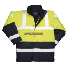 Portwest S466 Kontraszt Traffic kabát (SÁRGA XXL)