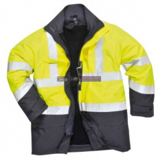 Portwest S779 HiVis multi-Protection kabát (SÁRGA/NAVY L)