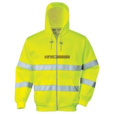 Portwest - B305 Hi Vis zippzáros pulóver (M)