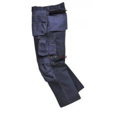 Portwest BP51 Boulder kontraszt varrású nadrág (SÖTÉT NAVY, S, Hosszított)