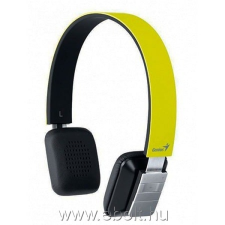 Genius HS-920BT headset - Sárga headset & mikrofon