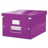 Leitz Irattároló doboz, A4, lakkfényű, LEITZ