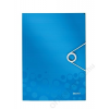 Leitz Gumis mappa, PP, A4, LEITZ Wow, kék (E45990036)