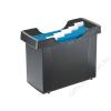 Leitz Függőmappa tároló, műanyag, 5 db függőmappával, LEITZ Plus, fekete (E19930095)