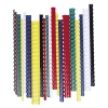 FELLOWES Spirál, műanyag, 10 mm, 41-55 lap, , 100 db, fekete