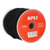 APLI Rugalmas kábel, , 2 mm x 100 m, fekete