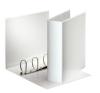 ESSELTE Gyűrűs könyv, panorámás, 4 gyűrű, 86 mm, A4, PP/PP, , fehér mappa