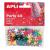 APLI Konfetti, metál,15 mm, csillag, , vegyes színek
