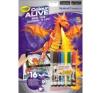Crayola Color ALIVE Sárkányok és kastély kréta, festék és papír