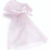 Baier & Schneider GmbH & Co.KG Knorr organza tasak (13x10 cm) rózsaszín