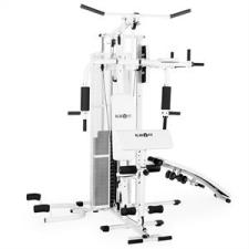 KLARFIT Ultimate Gym 5000, multifunkciós fitnesz állomás, fehér fitness eszköz