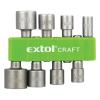 Extol Behajtó klt. hatlapfejű csavarhoz 8db, 5-13mm(5-5,5-6-7-8-10-11-13mm),36-38mm  (Bit)