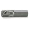 "Fortum Dugófej adapter 1/4"" hatszögű, 61CrV5, 10db/cs; 26mm hosszú (Dugófej)"