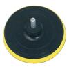 Gumitányér fúrógéphez; 125mm tépőzáras, befogás: 8mm, max. 10.000 ford/perc (Gumitányér fúrógéphez)