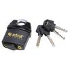 Extol Biztonsági lakat, levágás elleni védelemmel, festett, vízálló, 4db kulcs; 60mm (Lakat)