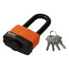 Extol Lakat, laminált, vízálló, hosszított kengyel, 4db kulcs; 40mm (Lakat)