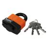 Extol Lakat, laminált, vízálló, 4 db kulcs; 50mm,kengyelszárátmérő:11/14mm (Lakat)
