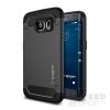 Spigen SGP Rugged Armor Samsung Galaxy S6 Edge Black hátlap tok