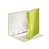 """Leitz Gyűrűs könyv, 4 gyűrű, D alakú, 40 mm, A4 Maxi, karton, lakkfényű, LEITZ """"Wow"""", zöld"""