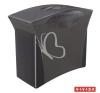 """ESSELTE Függőmappa tároló, műanyag, 5 db függőmappával, mobil, ESSELTE """"Europost"""", Vivida fekete kiegészítő irodaberendezés"""
