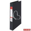 "ESSELTE Gyűrűs könyv, 4 gyűrű, 42 mm, A4, PP/PP, ESSELTE ""Standard"", Vivida fekete"