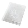 """Leitz Genotherm, """"L"""", lefűzhető, A4, 200 mikron, LEITZ """"CombiFile"""", áttetsző"""