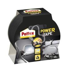 "HENKEL Ragasztószalag, 50 mm x 10 m, HENKEL ""Pattex Power Tape"", fekete ragasztószalag"