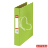 "ESSELTE Gyűrűs könyv, 2 gyűrű, 42 mm, A5, PP/PP, ESSELTE ""Standard"", Vivida zöld"