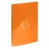 "VIQUEL Gyűrűs dosszié, 2 gyűrű, 25 mm, A4, PP, VIQUEL ""Propyglass"", narancssárga"