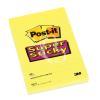 """3M POSTIT Öntapadó jegyzettömb, 102x152 mm, 75 lap, vonalas, 3M POSTIT """"Super Sticky"""", sárga"""
