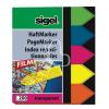 "SIGEL Jelölőcímke, műanyag, 5x40 lap, 12x45 mm, SIGEL ""Nyilak"", vegyes szín"