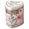 ". Zöld tea, 75 g, szív formájú fém dobozban, ""TIPSON For you Pearl"" tejszín és rózsa aroma"