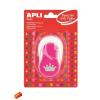 """APLI Mintalyukasztó, korona, 25,4mm, APLI """"Creative"""", rózsaszín"""