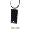 Saját készítésű ékszer Swarovski Crystal Rock medál Swarovski kristályokkal