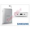 Samsung hordozható, asztali gyári akkumulátor töltő - EB-PG850BSEGWW Power Bank - 8400 mAh - silver