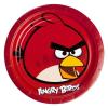 Riethmüller Angry Birds Piros Madár Parti Tányér 23 cm, 8 db-os