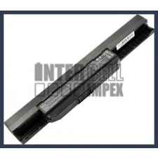 Pro5P 4400 mAh 6 cella fekete notebook/laptop akku/akkumulátor utángyártott asus notebook akkumulátor