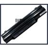 Fujitsu LifeBook A530 4400 mAh 6 cella fekete notebook/laptop akku/akkumulátor utángyártott