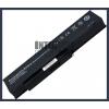 Fujitsu Amilo Pi3560 4400 mAh 6 cella fekete notebook/laptop akku/akkumulátor utángyártott