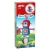 APLI Gyurma, APLI, piros-kék, Fun Dough, sétáló robot (LCA13983)